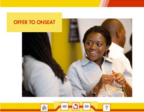 Offer to Onseat